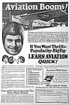 Click here to enlarge image and see more about item AD1025B9: 1928 American Aviation School LEARN TO FLY Ad
