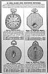 Click here to enlarge image and see more about item AD1124C5: 1929 ELGIN+WALTHAM Pocket Watch Ad L@@K!