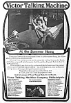 Click here to enlarge image and see more about item AD1224C2: 1904 VICTOR TALKING MACH Horn Phonograph Ad