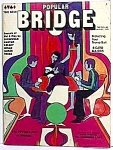 Click here to enlarge image and see more about item AD1229A5: 1970 MOD Popular Bridge Magazine MUST SEE!