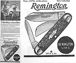 Click here to enlarge image and see more about item AD723A1: 1927 REMINGTON POCKET KNIFE Ad