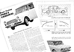 1962 FORD CARDINAL - TAUNUS CAR Magazine Article