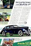 1939 NASH Models Auto Magazine Ad