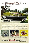 1953 NASH AIRFLYTE Automobile Ad