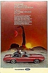 1969 FORD THUNDERBIRD Landau Automobile Ad