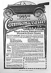 Click here to enlarge image and see more about item AU0323AA1: 1918 COMMONWEALTH Automobile Ad