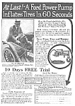Cool 1921 FORD TIRE INFLATOR Mag. Ad