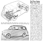 Click here to enlarge image and see more about item AU0422CC2: 1961 FIAT GIARDINIERA Auto Mag Article