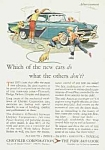 Click here to enlarge image and see more about item AU0524AA1: 1955 CHRYSLER Auto Ad
