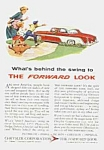 Click here to enlarge image and see more about item AU0524DD1: 1955 CHRYSLER Auto Ad