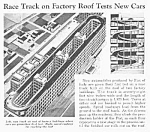 1939 FIAT TEST TRACK ON ROOF Mag Article