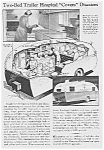 1938 TRAILER HOSPITAL Mag. Article