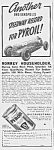 1938 Pyroil INDY 500 Racing Related Ad