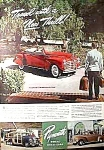 1941 PLYMOUTH WOODIE & Conv. Auto Ad