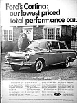 1966 FORD CORTINA Magazine Ad