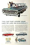 Click here to enlarge image and see more about item AU0704E1: 1959 CHEVY WAGONS Magazine Ad