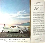 1959 FORD THUNDERBIRD Patent Art AND Magazine Ad