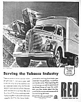 Click here to enlarge image and see more about item AU0705A6: 1945 REO Commercial Truck Magazine Ad