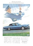 1966 Blue FORD THUNDERBIRD Auto Ad
