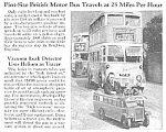 Click here to enlarge image and see more about item AU0710B1: 1946 MINI DRIVEABLE British Bus Mag Article
