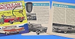 1958 EDSEL AUTO Cover/Magazine Article