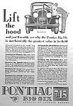 1930 PONTIAC Big Six Auto Ad