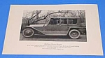 Click here to enlarge image and see more about item AU1009A1: 1919 LOCOMOBILE LIMOUSINE CAR Ad