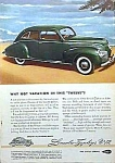 Click here to enlarge image and see more about item AU106A1: 1939 LINCOLN ZEPHYR V-12 Auto Ad