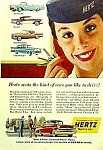 Click here to enlarge image and see more about item AU330A1: 1957 CHEVY+ Other Models RENTAL Ad