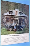 1971 VW BEETLE Auto Ad-After the Mule Died