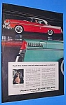 Click here to enlarge image and see more about item AUTO707BB2: 1956 CHRYSLER/Push Button Driving Auto Ad