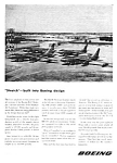 Click here to enlarge image and see more about item AV0121A2: 1955 BOEING B-47 STRATOJET AIRCRAFT Aviation Ad
