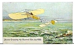 Click here to enlarge image and see more about item AV0306AA1: c.1920 BLERIOT CROSSING Aircraft Premium