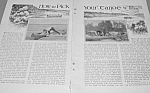 Click here to enlarge image and see more about item BOAT531AA1: 1927 CHOOSING CANOES Magazine Article!