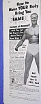 Click here to enlarge image and see more about item BODY831A3: 1939 CHARLES ATLAS� Muscle/Physique Ad