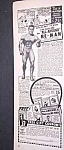 Click here to enlarge image and see more about item BODY915C3: 1949 JOWETT INSTITUTE - Muscle/Physique Ad