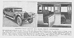 1922 PACIFIC COAST 40 SEAT BUS Mag Article