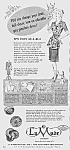 Click here to enlarge image and see more about item BU0614AA2: 1944 LaMode BUTTONS Sewing Ad