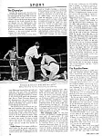 Click here to enlarge image and see more about item BX0121A1: 1960 INGEMAR JOHANSSON HW Champion BOXING Mag. Article