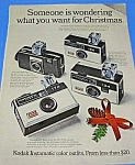 Click here to enlarge image and see more about item CAM531AA2: 1969 KODAK INSTAMATIC Cameras  Ad