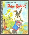 PETER RABBIT Little Golden Book