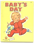 Click here to enlarge image and see more about item CBK0330AA4: BABY'S DAY Wonder Book #663