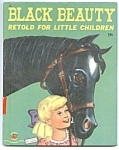 Click here to enlarge image and see more about item CBK0330AA8: BLACK BEAUTY Wonder Book #595
