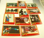 Click here to enlarge image and see more about item CD100116A1: Lot of Cards Garbage Pail Kids SUPERMAN II Super Stars