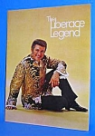 Fabulous 1970s LIBERACE Concert Program B