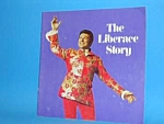 Click here to enlarge image and see more about item CE0514BB7: Fabulous 1970s LIBERACE Concert Program