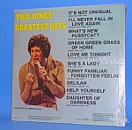 Click here to enlarge image and see more about item CE707AA3: TOM JONES Greatest Hits LP (1973)