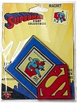 Cool!  SUPERMAN LUCITE Magnet NOS