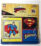SUPERMAN Jigsaw Puzzle POSTCARD NOS