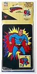 SUPERMAN Magnetic Greeting Card NOS